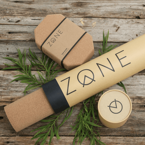 Cork Yoga Mat and Blocks Combo - ZONE
