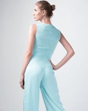 Load image into Gallery viewer, Oluchi Harness Aqua Jumpsuit