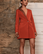 Load image into Gallery viewer, Idia Blazer Dress