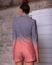Load image into Gallery viewer, Xetsah Geometric Print Blazer