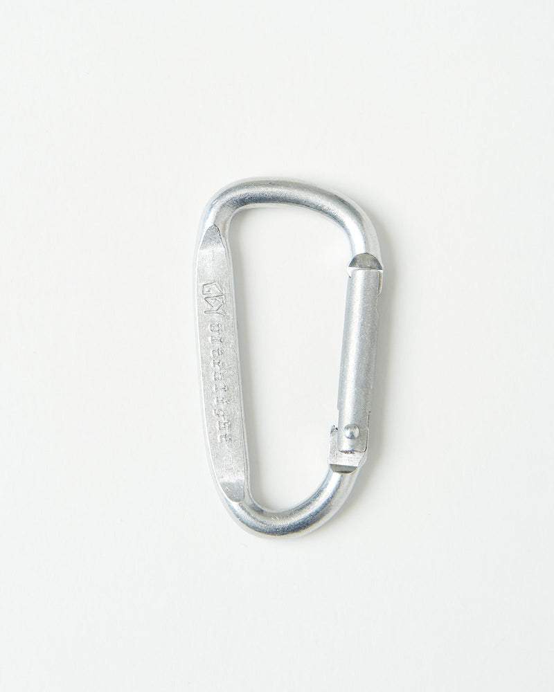 color: aluminum ~ alt: GBY Ultralight - Aluminum Carabiner 57mm