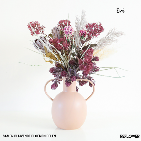 Reflower November kunstbloemen abonnement
