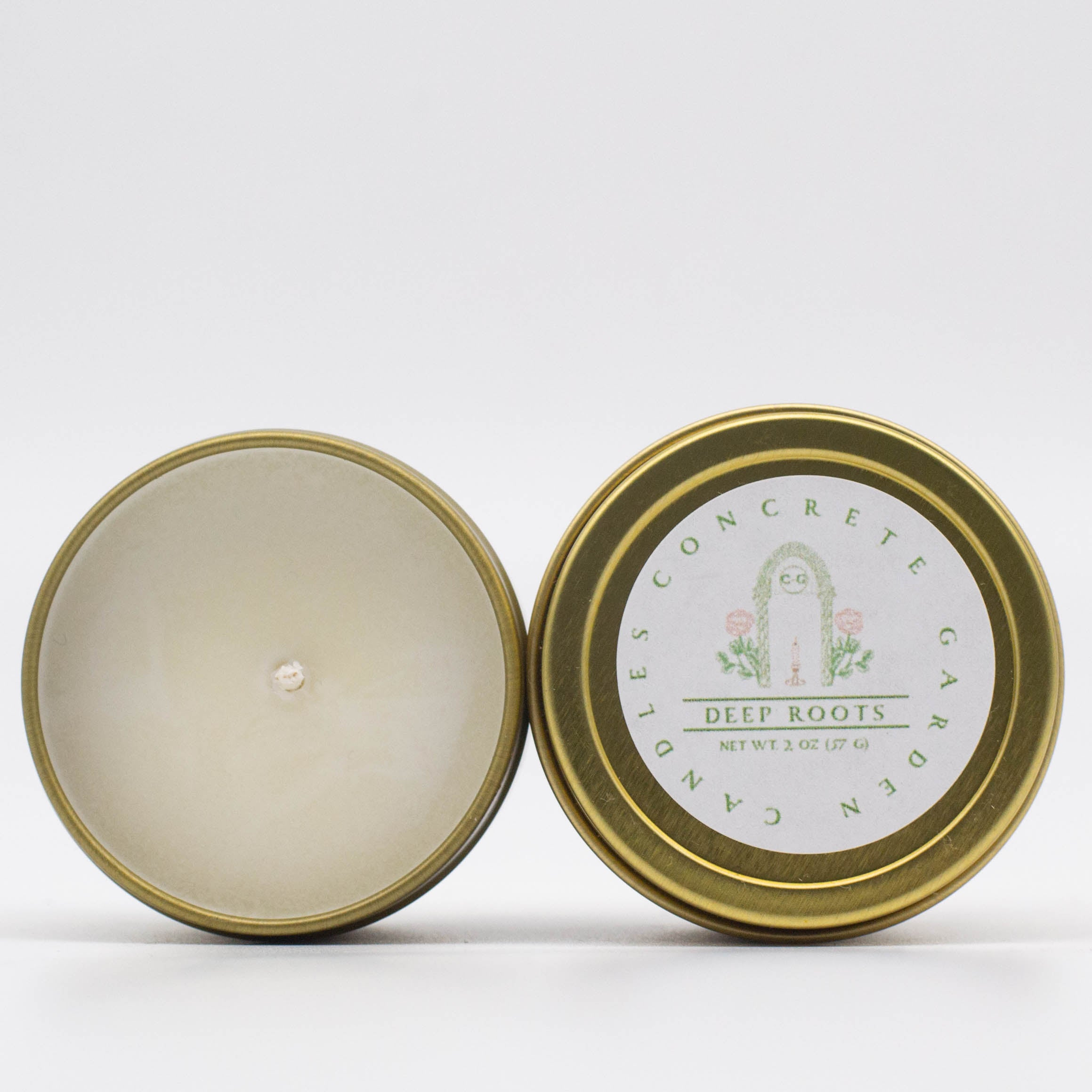 Deep Roots - Ginger and Lemon Soy Candle