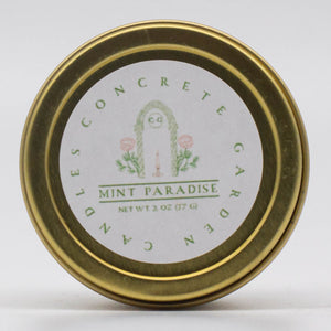 Mint Paradise - Mint and Pineapple Soy Candle