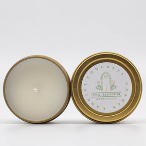 Tea Blossom - White Tea and Thyme Soy Candle