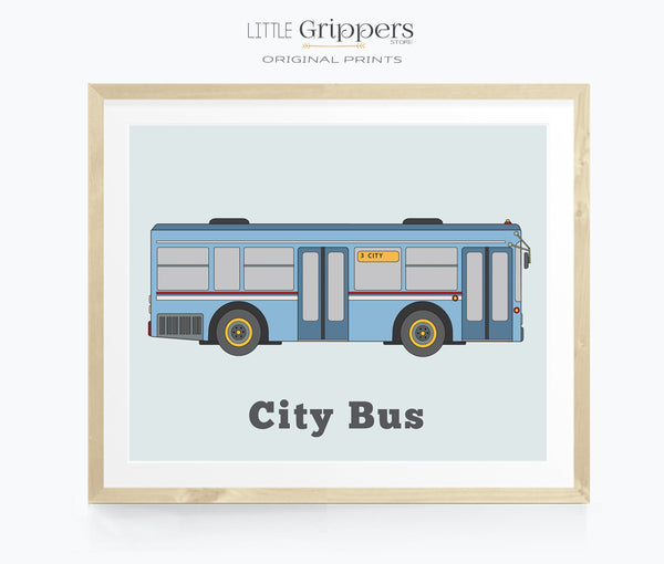 City Bus wall art