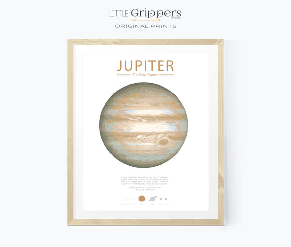 Jupiter Planet wall art