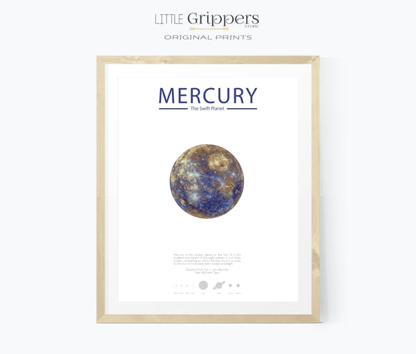 Mercury Planet wall art