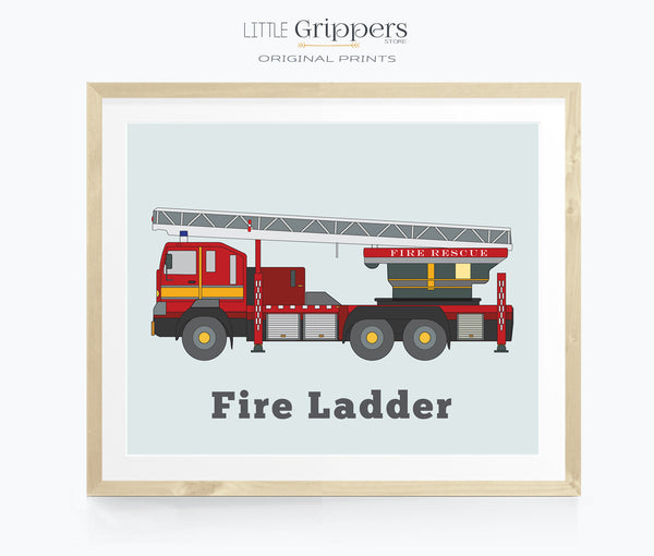 Fire Ladder Printable