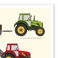Farm Vehicle Chart
