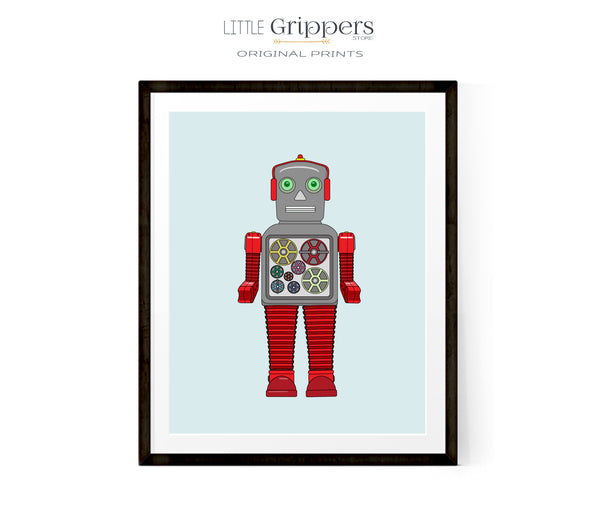 Printable Music Robot Print