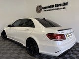 E Class - W212: Gloss Black AMG Style Spoiler 10-16 - Carbon Accents