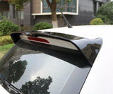 Polo: MK5 - 6R/6C: Gloss Black OTG Style Spoiler - Carbon Accents