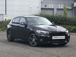 1 Series - F20/F21 LCI: Gloss Black Grill Single Slate - Carbon Accents