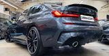 3 Series - G20: Gloss Black Performance Style Spoiler - Carbon Accents