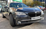 7 Series - F01/F02: Gloss Black Double Slate Grill 2009-2015 - Carbon Accents