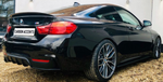 4 Series - F32: Gloss Black Performance Style Spoiler - Carbon Accents