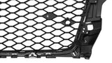 A3 - 8V: RS Honeycomb style Badgeless Grills 13-16 - Carbon Accents
