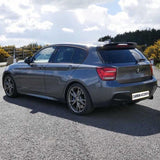 1 Series - F20/F21: Gloss Black Performance Style Spoiler 12-19