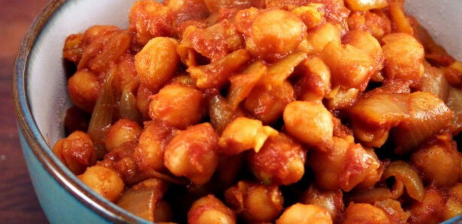 Curried Beans & Chickpeas