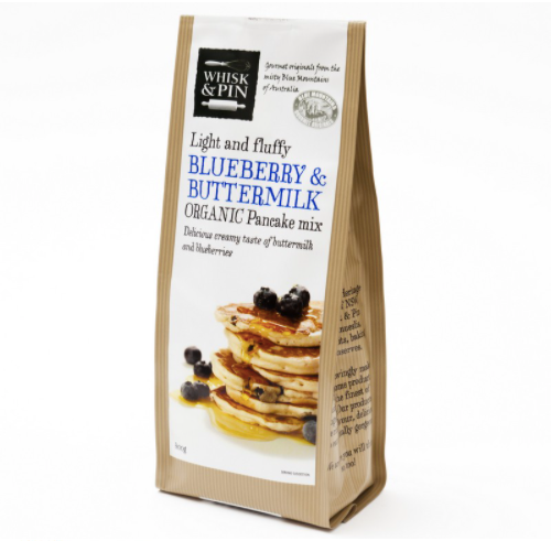 Whisk & Pin Blueberry Buttermilk Pancake Mix