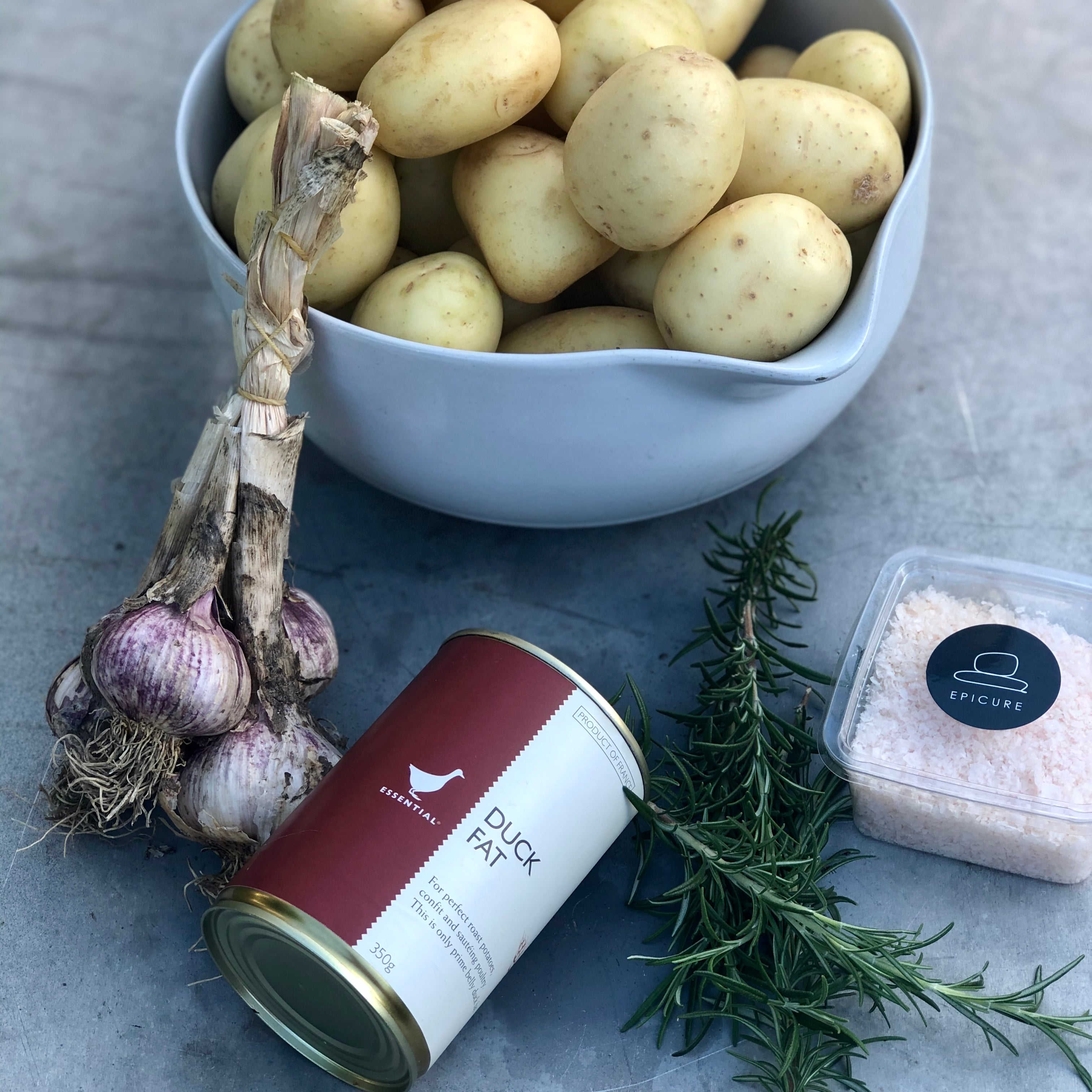 Duck Fat Potatoes Kit
