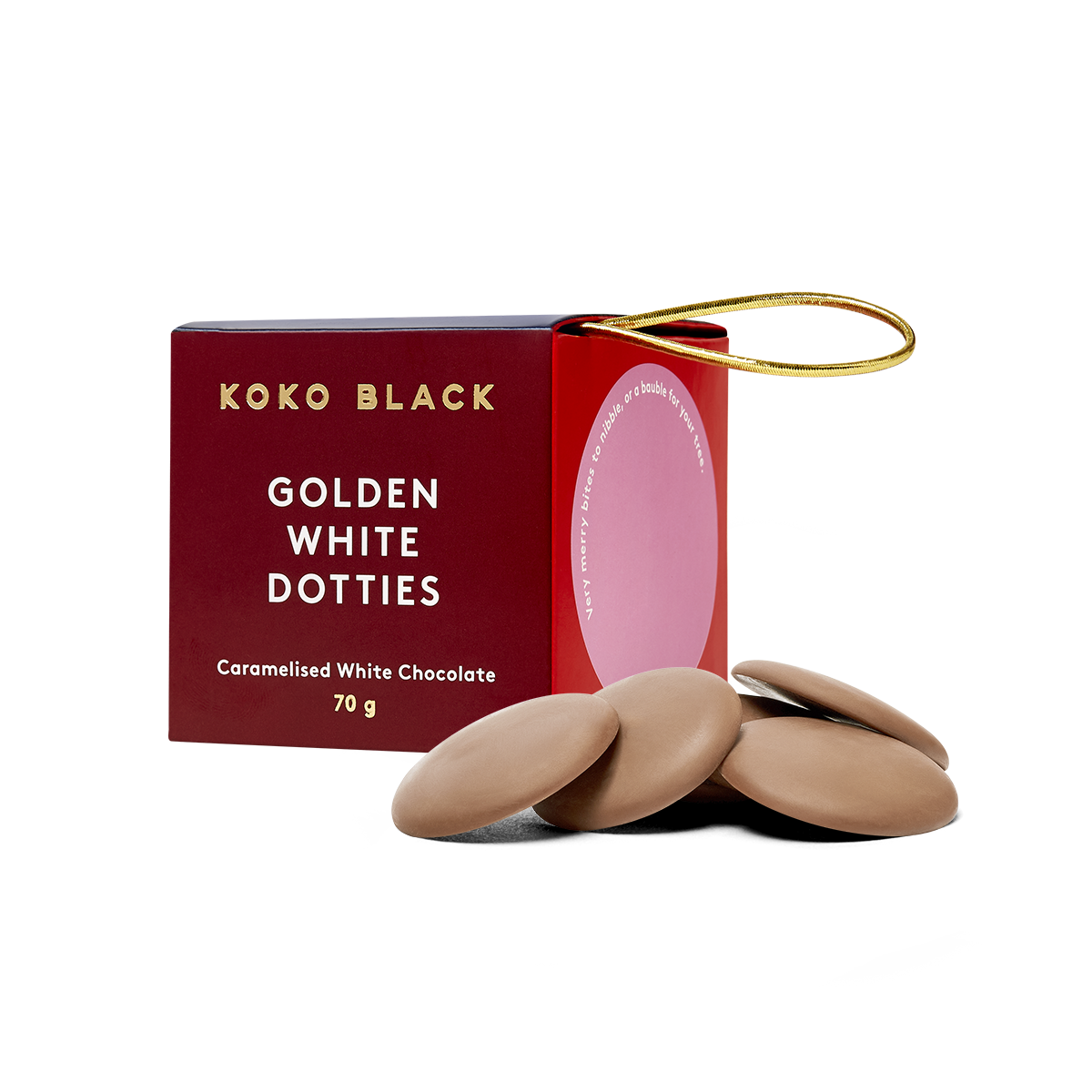 Koko Black Edible Ornaments