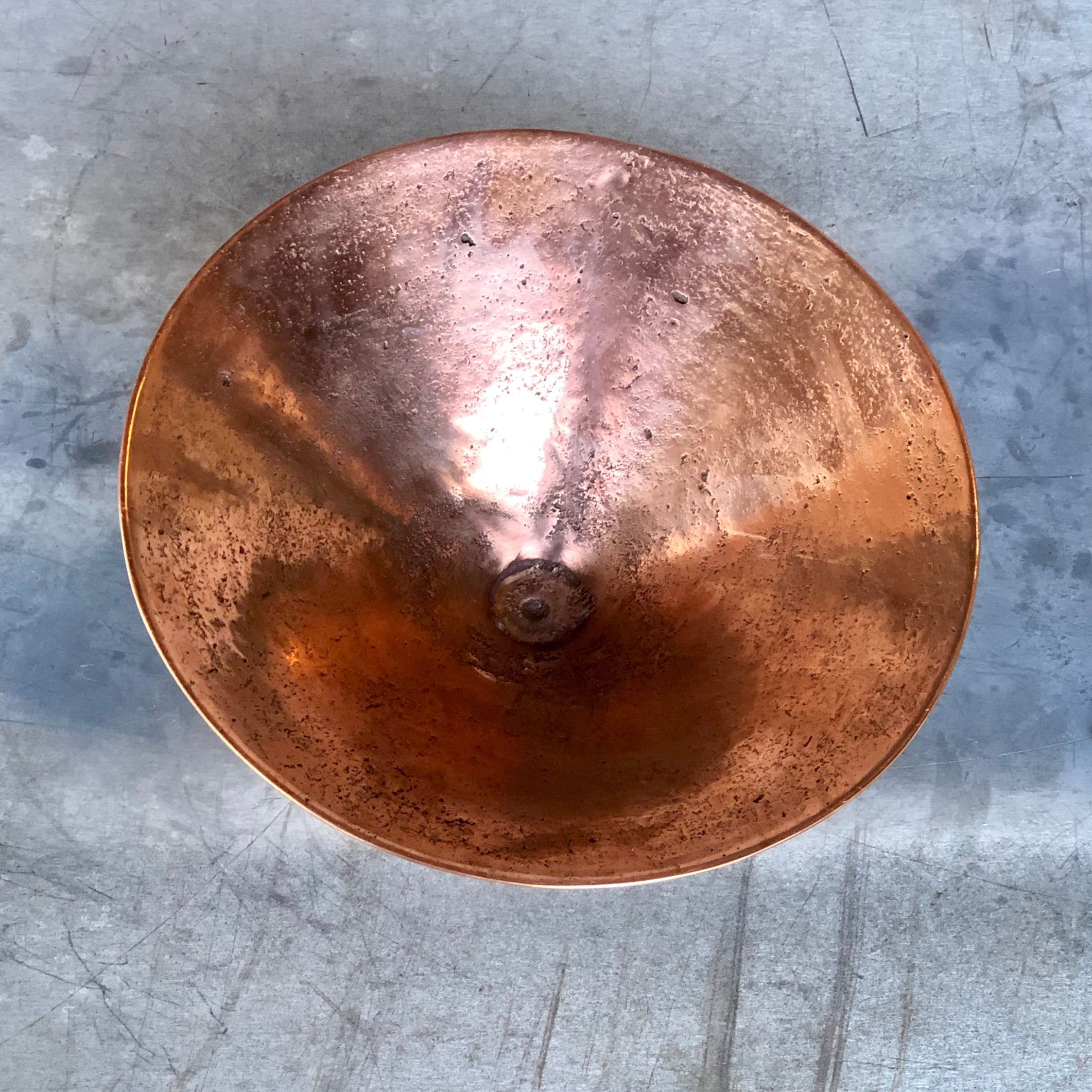 Handcrafted Copper Bowl