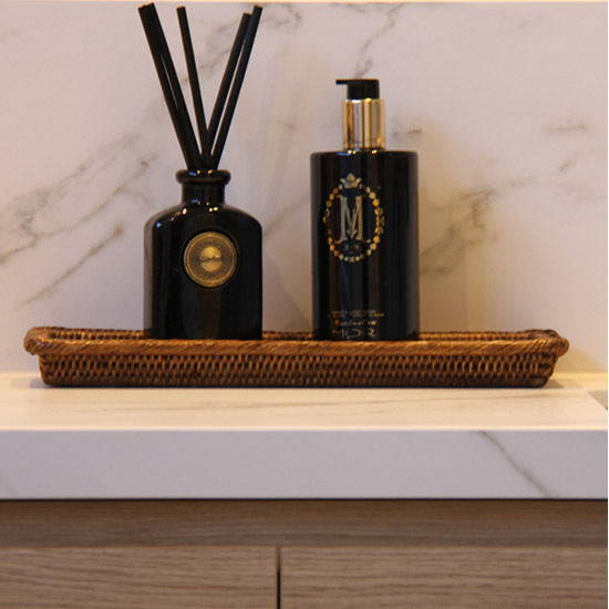 Rattan Sink Caddy