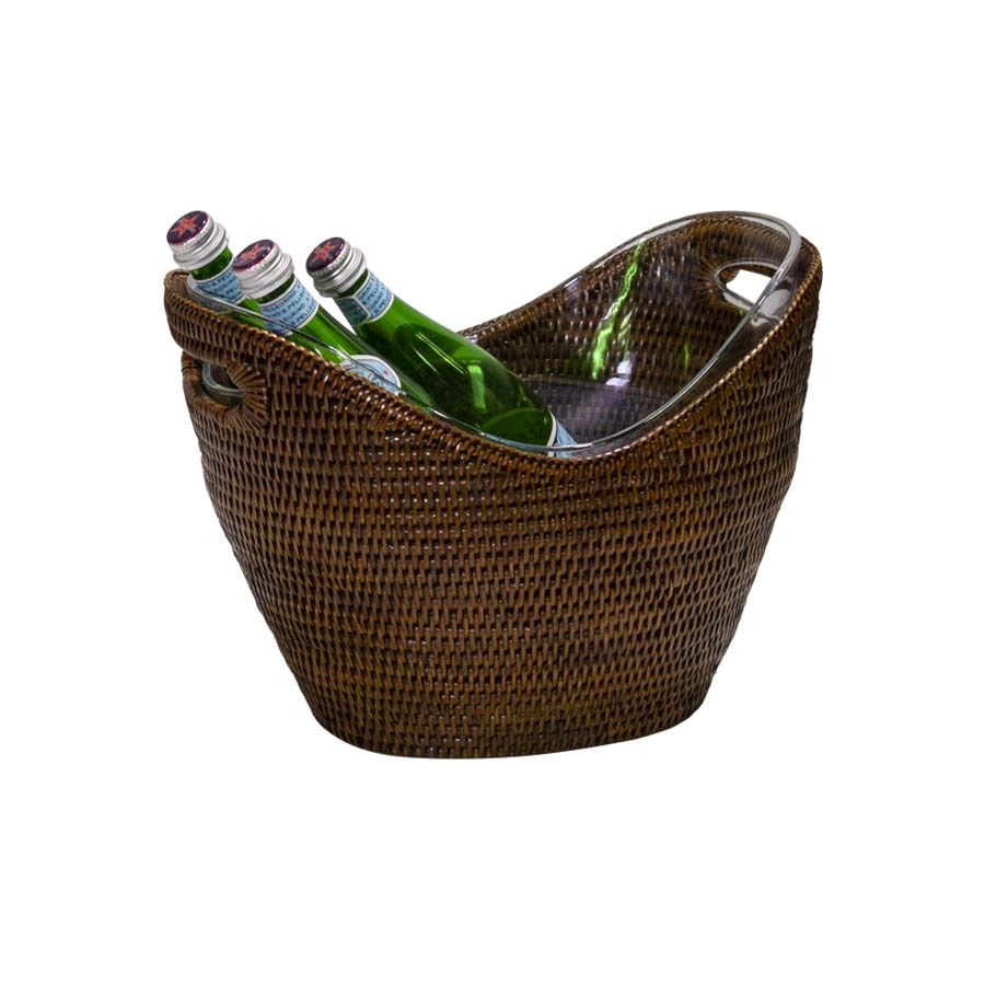 Rattan Drinks Bucket