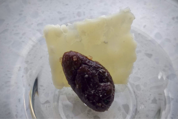 Pecorino Romano Cheese with Lightly Sweet and Salty Cacao Beans