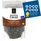 Organic Snacking Cacao Beans - Lightly Caramelized, Sweet & Salty