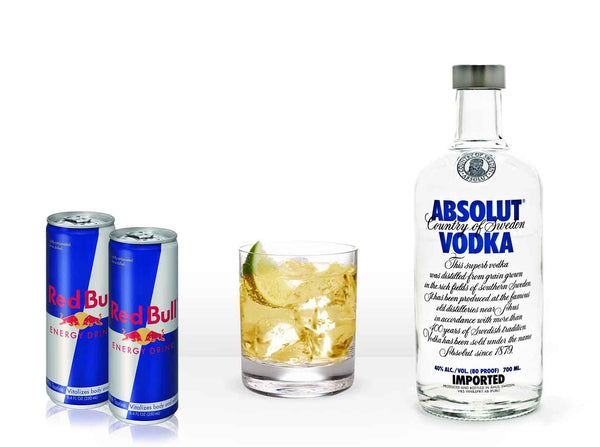 Absolut Vodka Redbull Kit