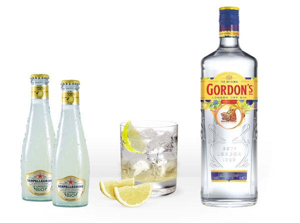 Gordon's Gin Lemon Kit