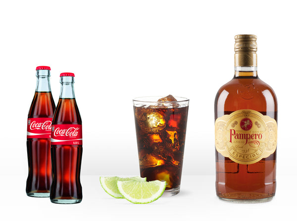 Pampero Rum & Cola Kit