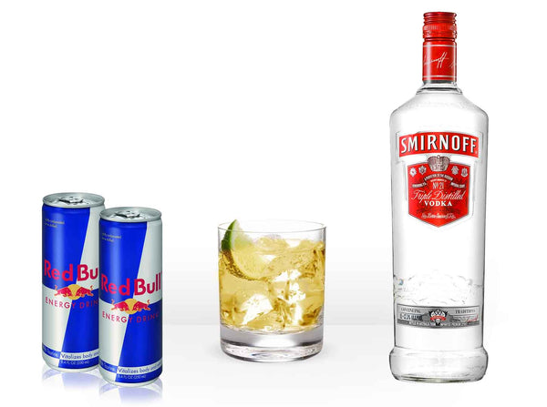 Smirnoff Vodka Redbull Kit