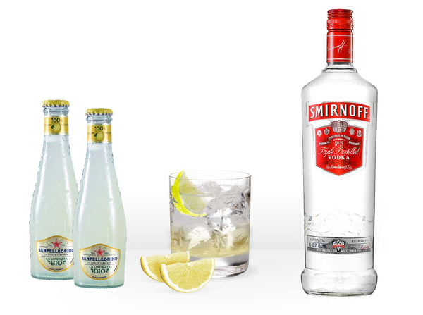 Smirnoff Vodka Lemon Kit