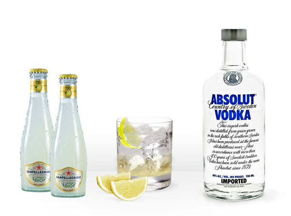 Absolut Vodka Lemon Kit