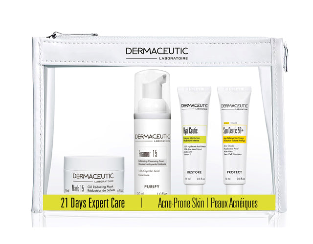 21 Days Expert Care Kit Acne Prone Skin - Dermaceutic