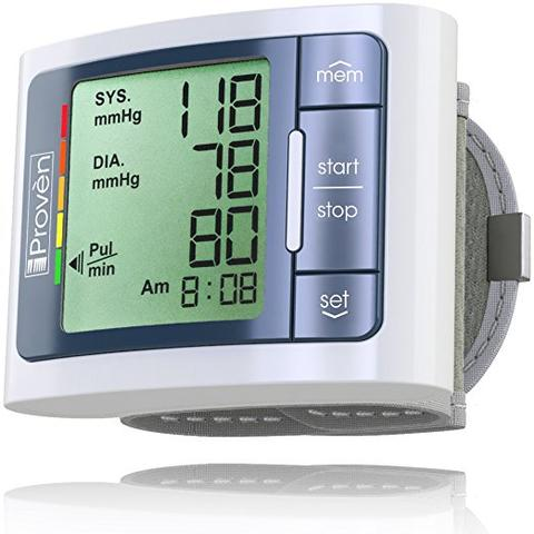 Keep track of your blood pressure wherever you go with the BPM-337 WG