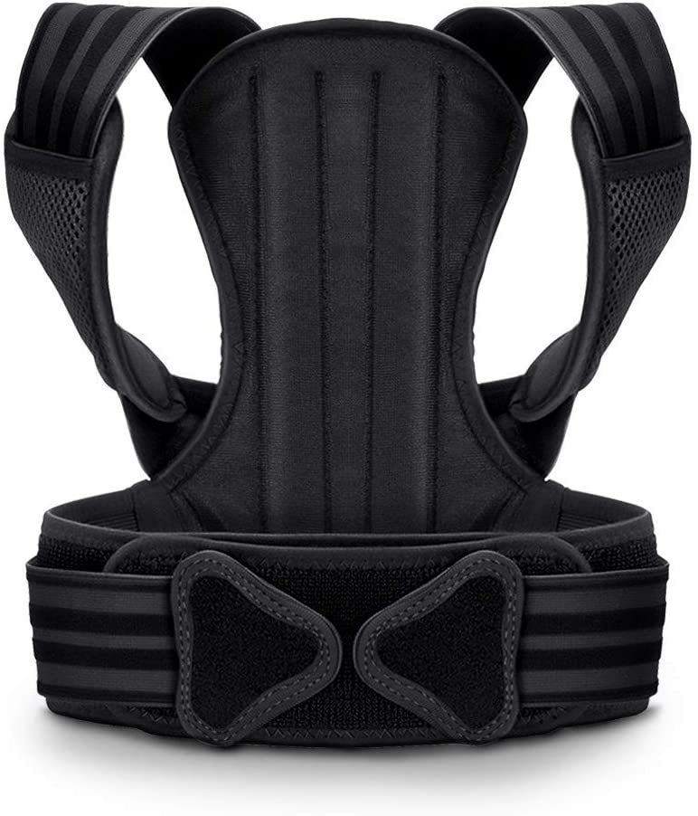 VOKKA Posture Corrector for Men and Women, Spine and Back Support, Providing Pain Relief for Neck, Back, Shoulders