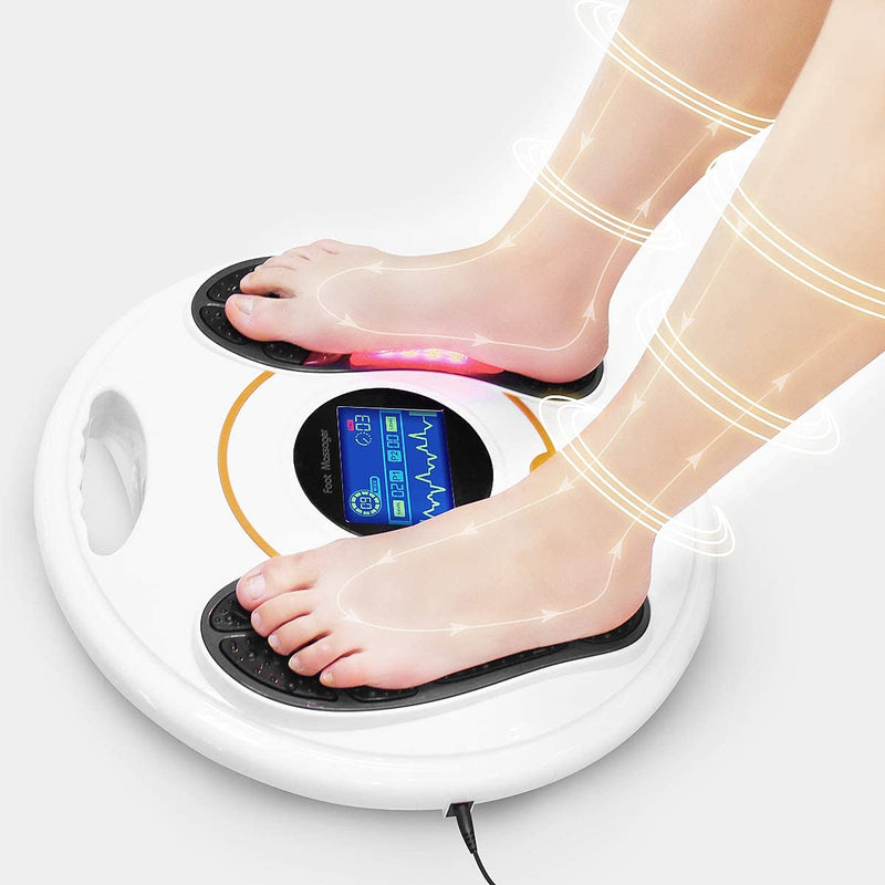 EMS Foot Circulation Devices- Electronic Foot Circulation Plus- Boosting Circulation, Relieve Pain and Aching of Feet, Legs & Ankles
