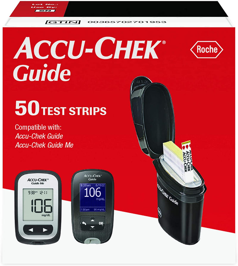 Accu-Chek Guide Test Strips - 50 ct