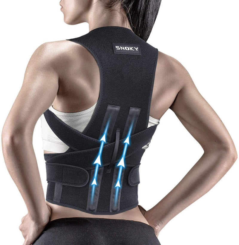 Snoky Posture Corrector,Back Brace for Women and Men Support straightener