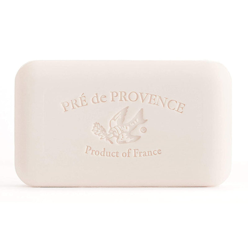 Pre de Provence Artisanal French Soap Bar Enriched with Shea Butter, White Gardenia, 150 Gram (Pack of 18)