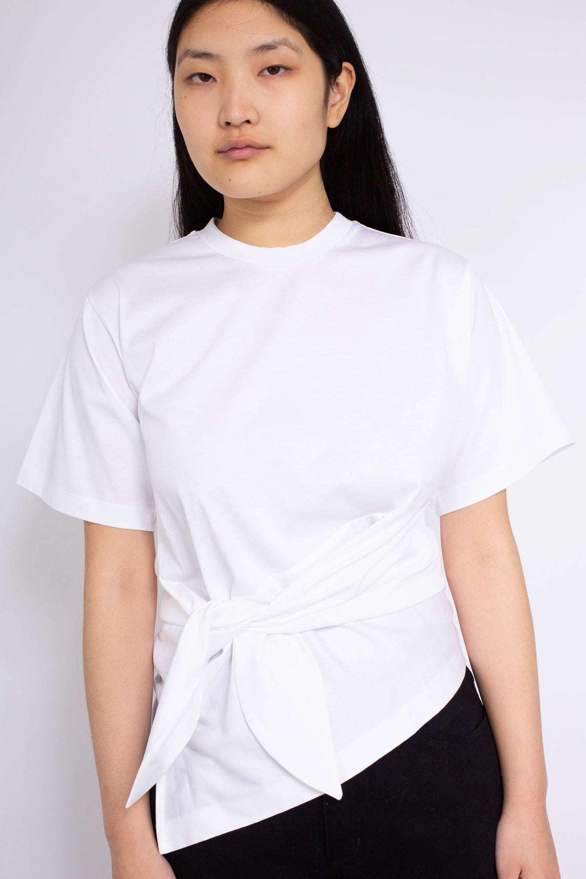 KNOT T-SHIRT IN WHITE - marques-almeida-dev
