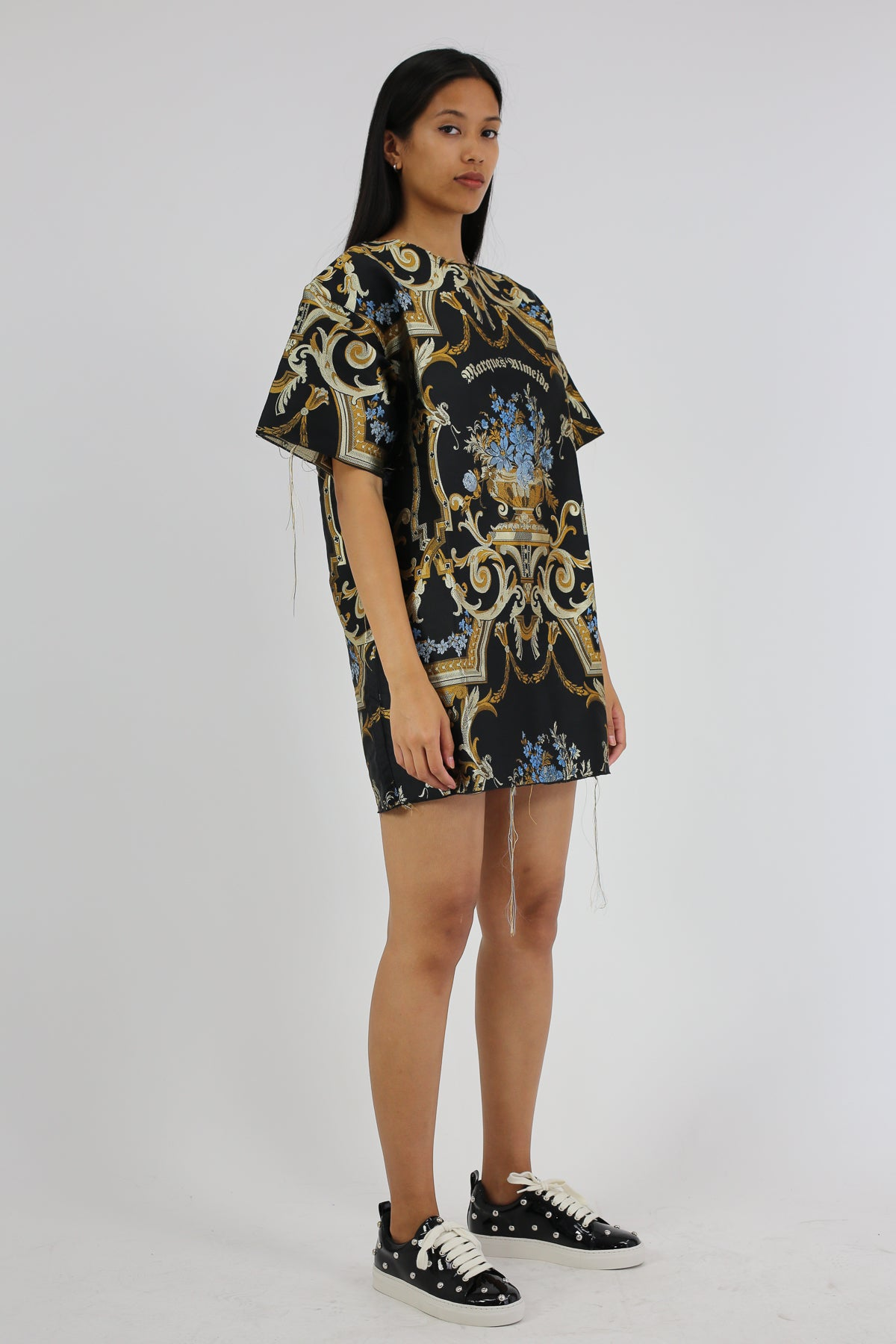 PRE-OWNED / BROCADE M'A OVERSIZE T-SHIRT