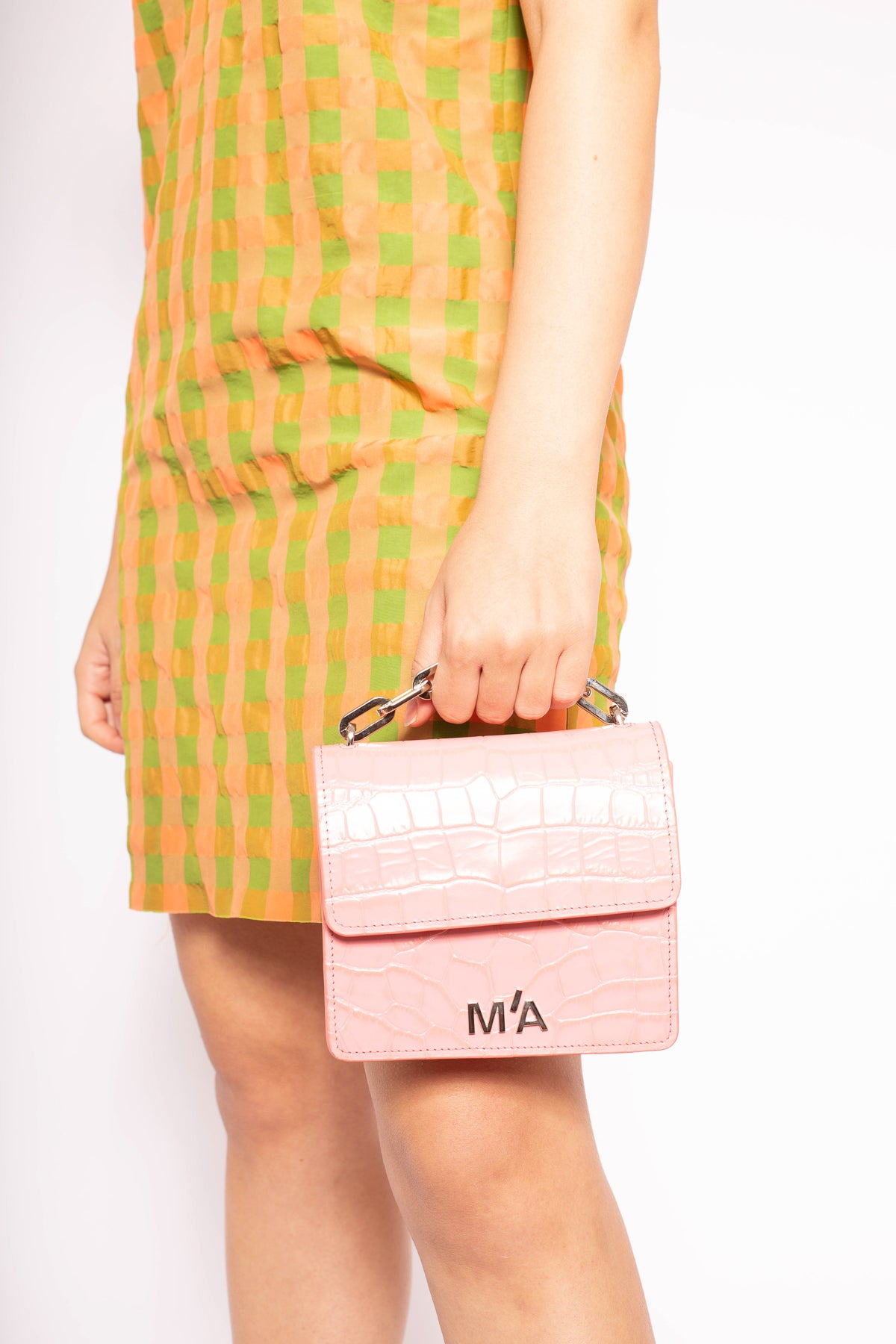 MINI CHAIN BAG IN PINK - marques-almeida-dev