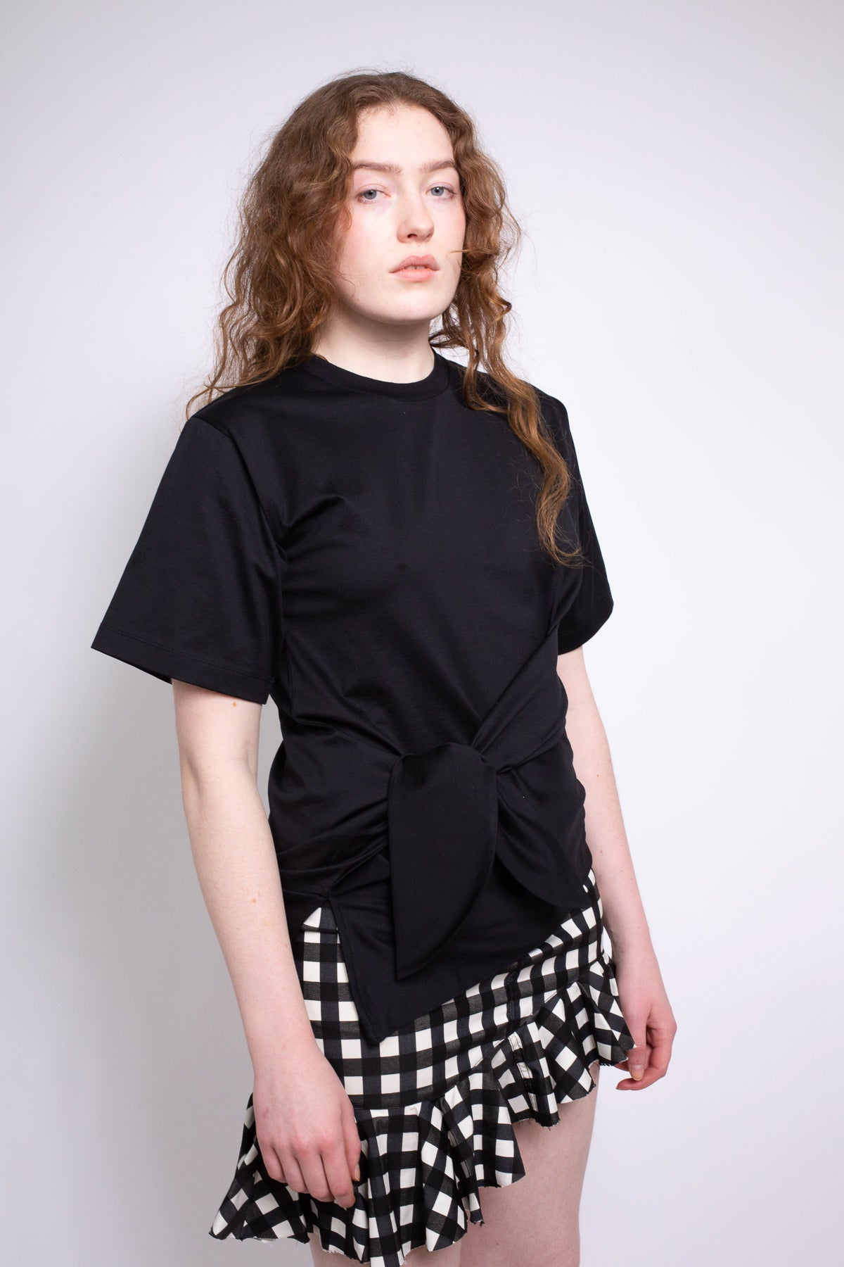 BLACK KNOT T-SHIRT - marques-almeida-dev