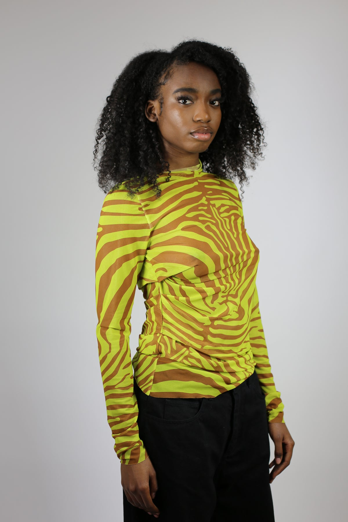 PRINTED MESH TOP - marques-almeida-dev